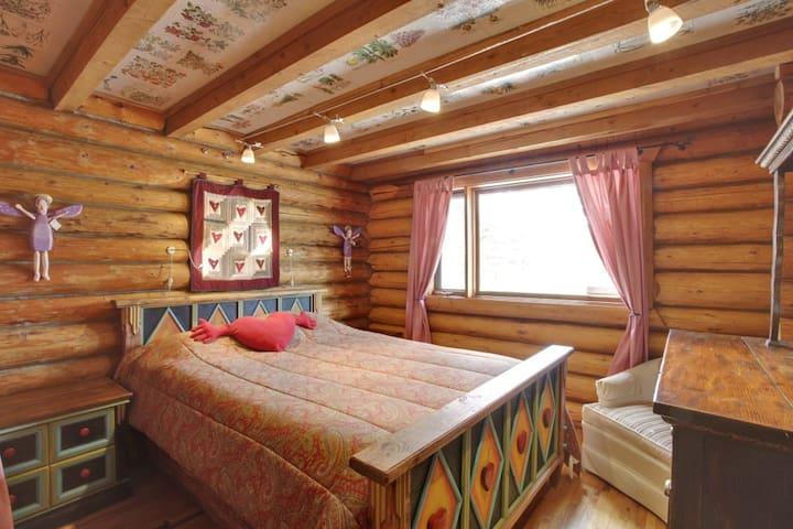 Bedroom #2 (heart room)
