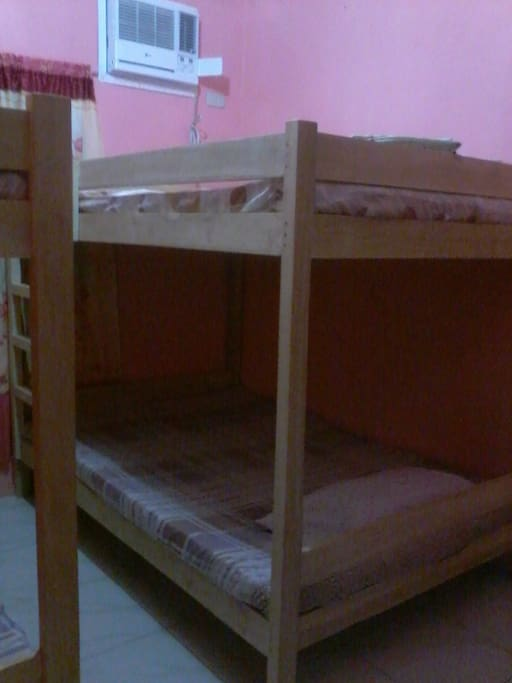 2nd room 8pax capacity with 2 bunk beds