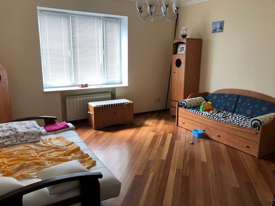 Детская комната, с двумя спальными местами