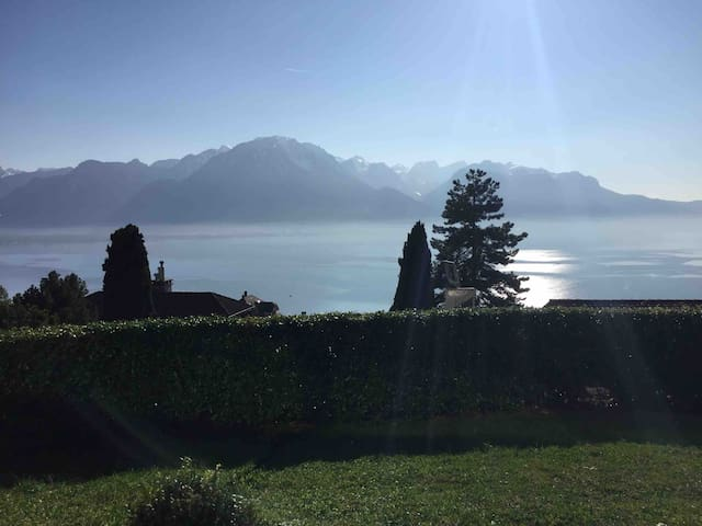 Luxurious Montreux Villa with Lake view/ 4 bedroom