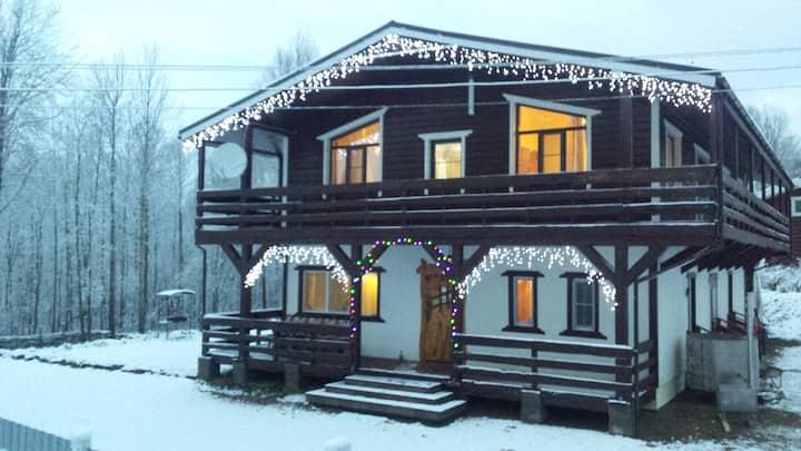 Альпийский домик в Коробицыно