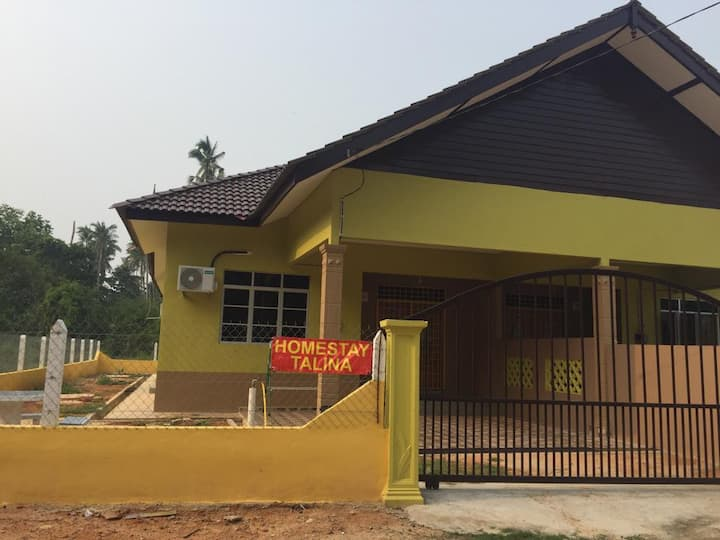 A newly build homestay with  relaxing  environment