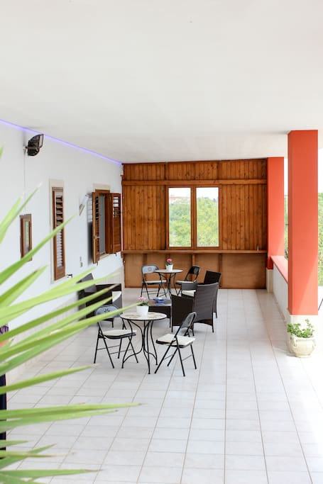 Salottino veranda