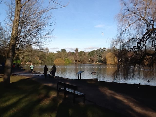 Lovely 2 bed apartment in beautiful lake location - Cardiff - Daire