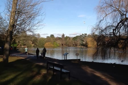 Lovely 2 bed apartment in beautiful lake location - Cardiff - Wohnung