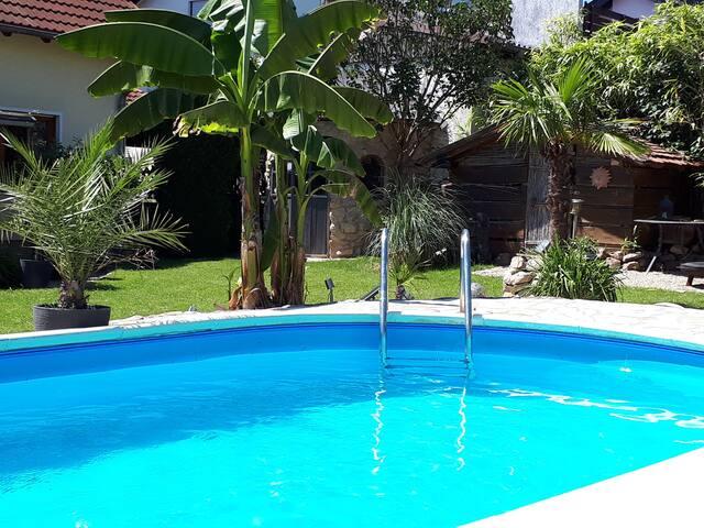 Pool mit Mallorcafeeling