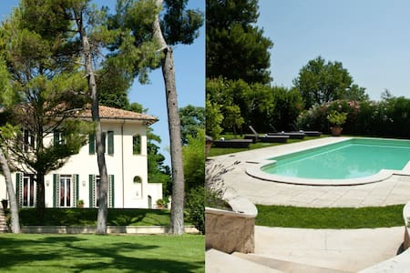 Villa, pool and bioenergetic garden - Fano - Villa