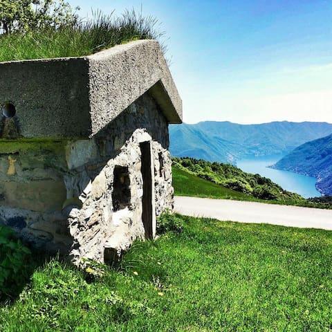 Alpe di Colonno - Pigra - Dorm