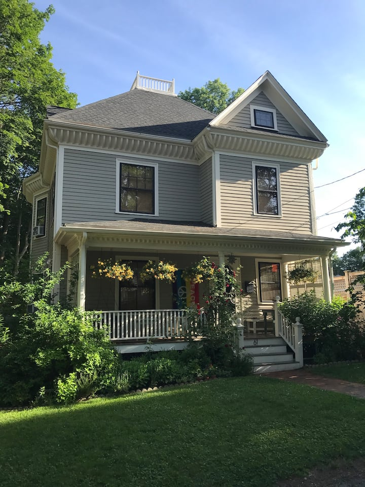 Charming Victorian home in desirable Boston suburb