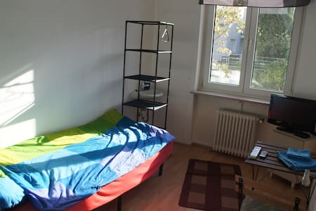 8m² room with LED-TV + free Wifi