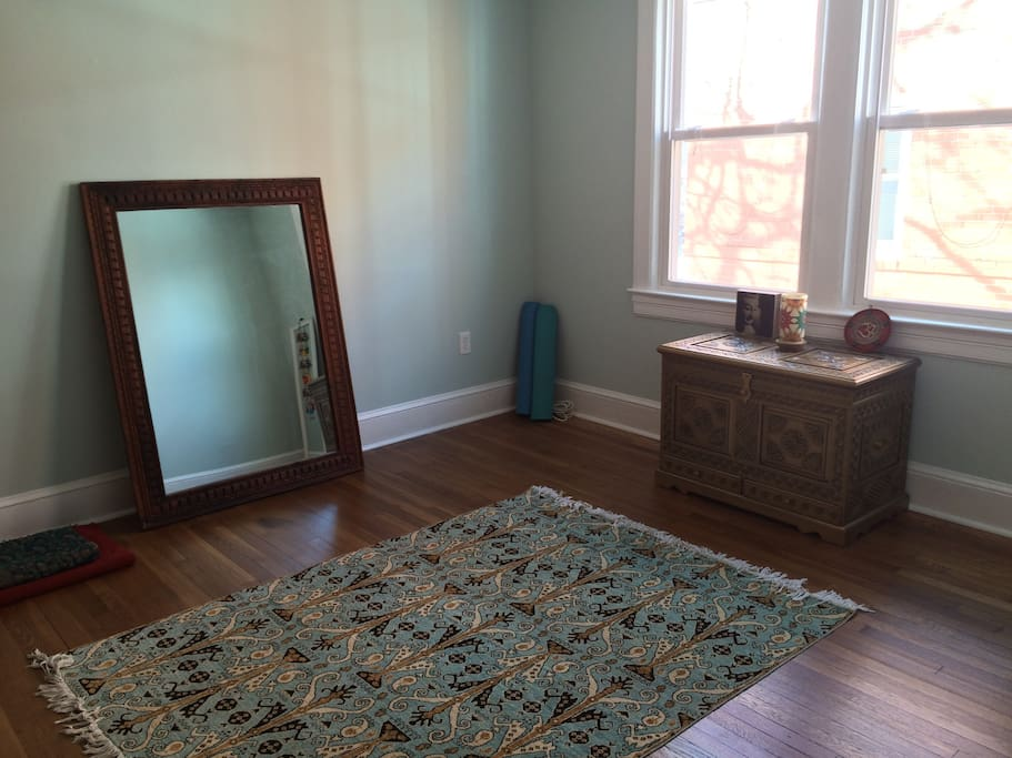 Yoga/meditation or exercise room.  Has brand new air mattress for additional guests.