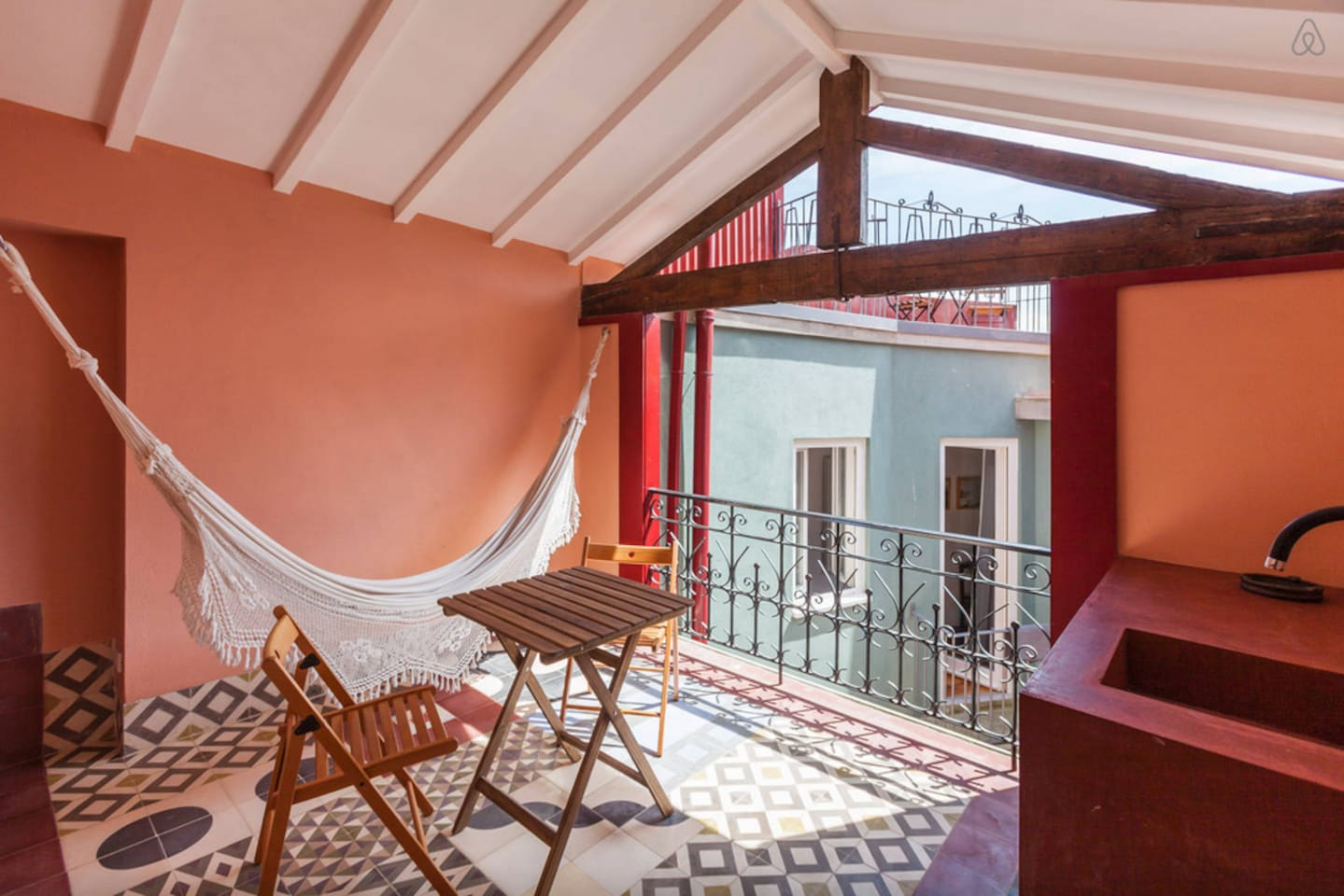 The apartment is located in the city center close to every important spot. It is the best option for business travelers, families, small groups and everyone who want to feel the history of the city portrayed in this flat.