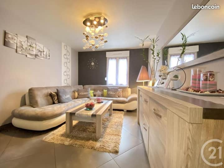 Maison avec jacuzzi proche d'europapark