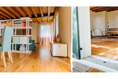 Accogliente open space nel verde - Colognola Ai Colli - บ้าน
