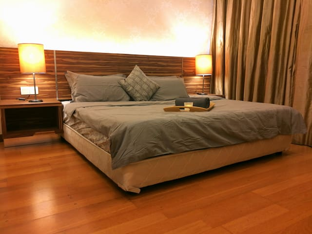 ☆Private MasterRoom☆Spacious and Snug with KingBed