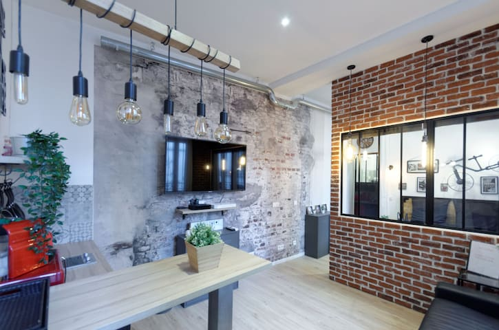 AUTHENTIC LOFT IN THE HEART OF LE MARAIS 2-4 PERS