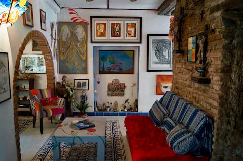 300 year old quirky Spanish Colonial home