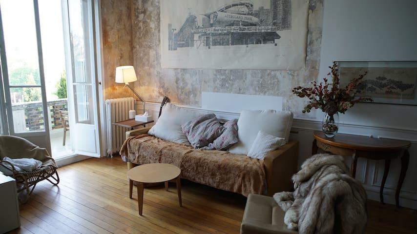 Appart familial avec terrasse Meudon Paris sud - Meudon - Apartamento