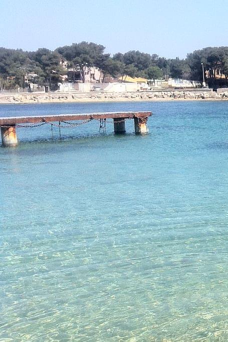 Port Tamaris en Octobre (1mn à pieds)