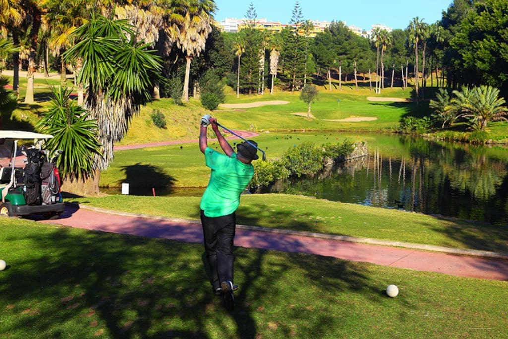 "Just 10 minutes walking, is the ""Golf Course of Torrequebrada"" considered one of the best in Europe"