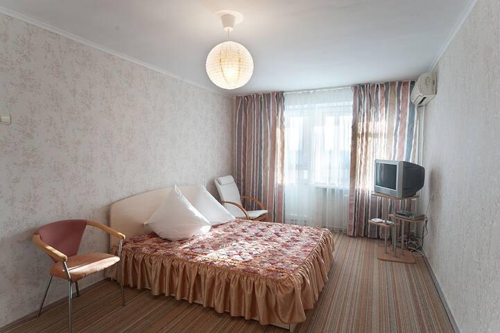 Квартира, Zaporizhzhia, вид на Днепр