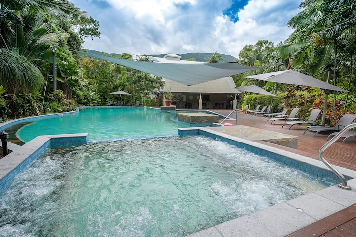 2 Bedroom Rainforest Apartment at Oasis Palm Cove