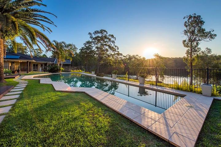 Emerald Beach Lake Front Estate