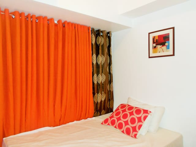 Cozy Studio with WIFI near Makati - Mandaluyong - Wohnung