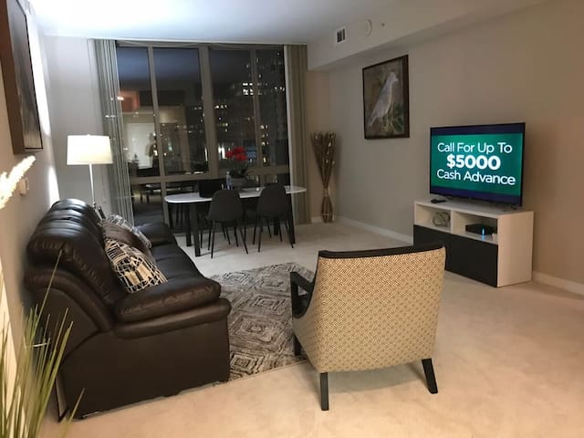 Amazing 2beds apartment in reston town center.