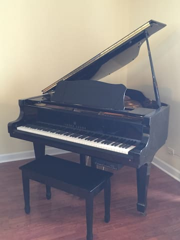 Gorgeous Furnished 2 bedroom condo with piano