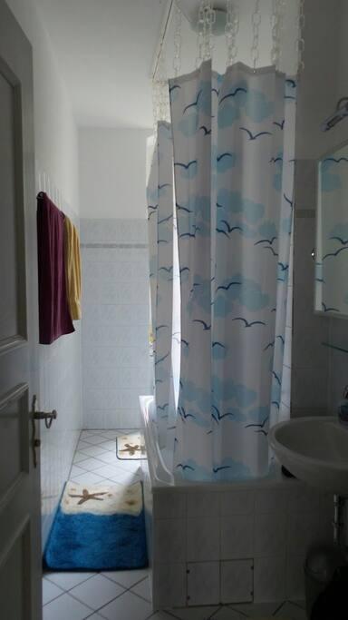 Bad/Bathroom with Shower & Tub