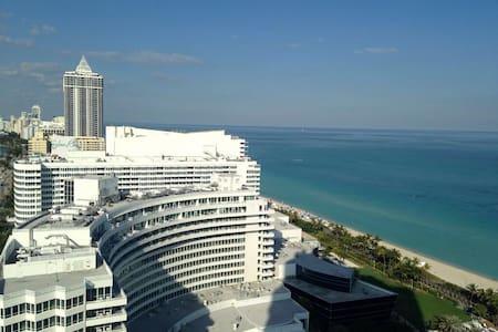 Fontainebleau Oceanview Apartment - Miami Beach - Apartment