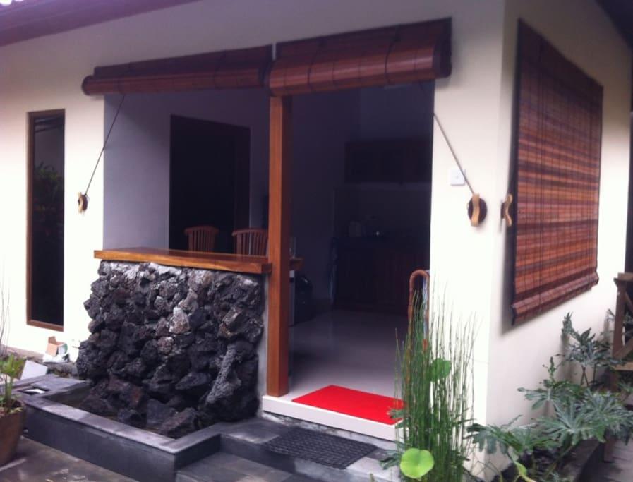 Open style living/kitchenette area
