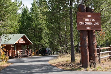 The Timbers Condo 1BR Condo~Sleeps 4~Yellowstone!