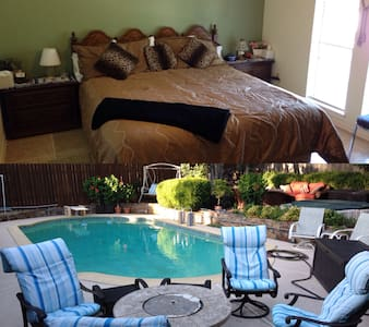 Kingsize bed w/ Private Bath, Pool & Spa. So Nice! - Duncanville - Casa