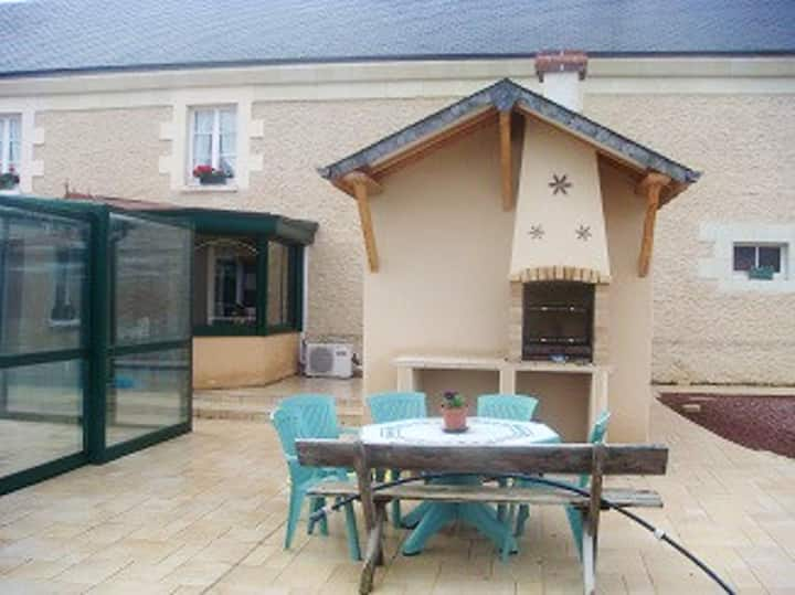 House with 2 bedrooms in Mouterre-Silly, with shared pool, enclosed garden and WiFi - 180 km from the beach