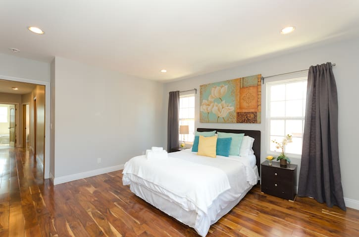 Bedroom #1 - Bright and spacious!