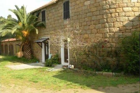 Petite maison rustique proche plage - Belvédère-Campomoro