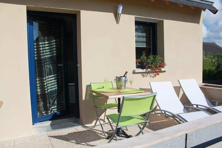 Duplex douillet avec terrasse au calme - Noyalo