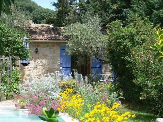 Le petit Mazet avec terrasse et piscine - La Capelle-et-Masmolène - Huis
