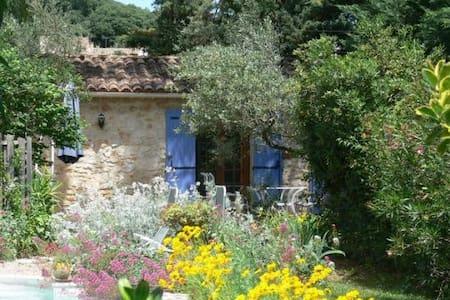 Le petit Mazet avec terrasse et piscine - La Capelle-et-Masmolène