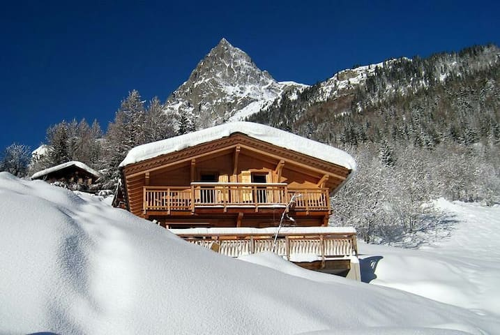 Chalet contemporain, grand confort - Vallorcine - Casa