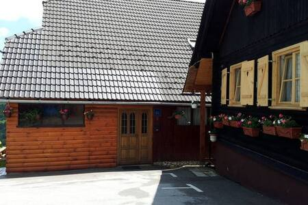 NP PLITVICE, Big wooden OAZA MIRA - Plitvička Jezera
