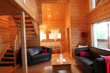 Villa Maaria log house near lake ,free Wifi - Juva