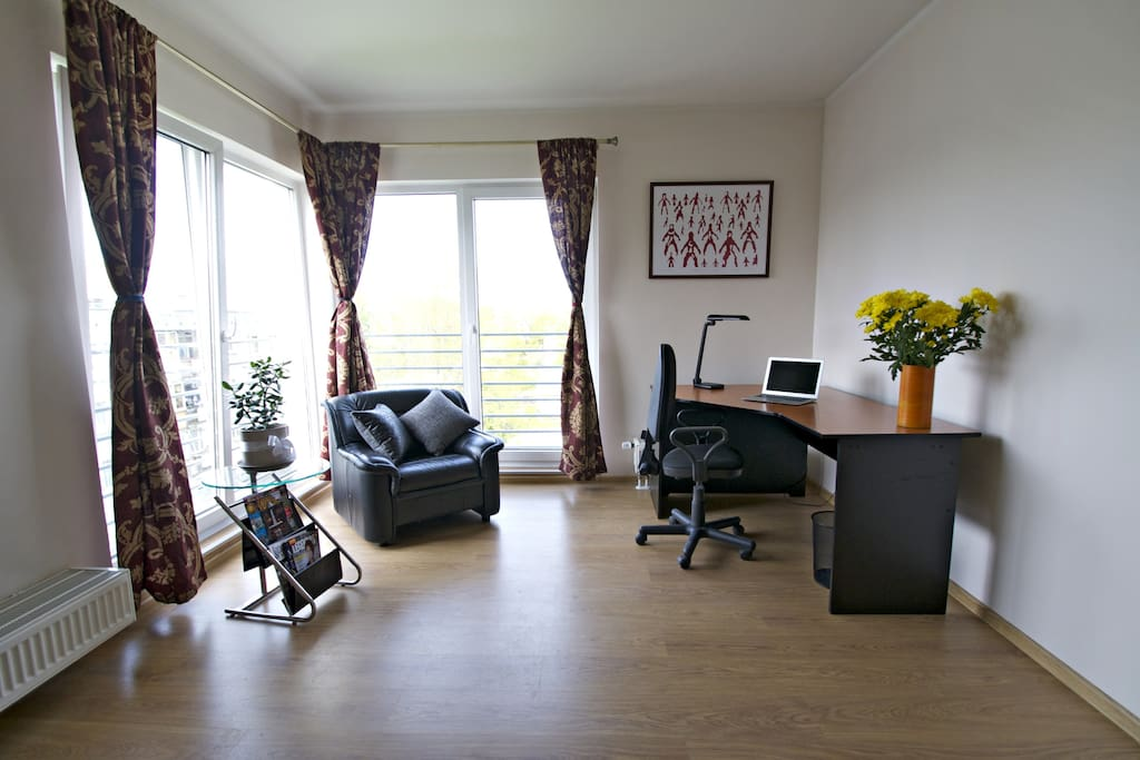 Space for working and relaxation