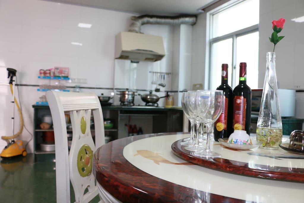 家庭套房厨房