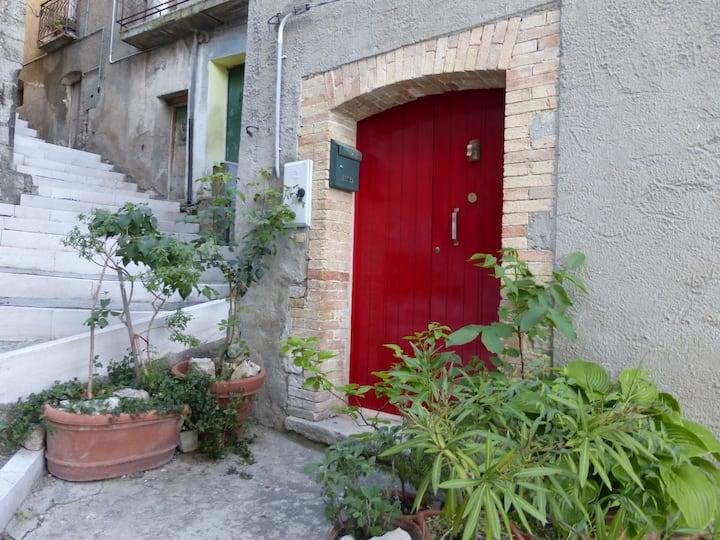 Casa Ersilia, nel paese di Tufillo