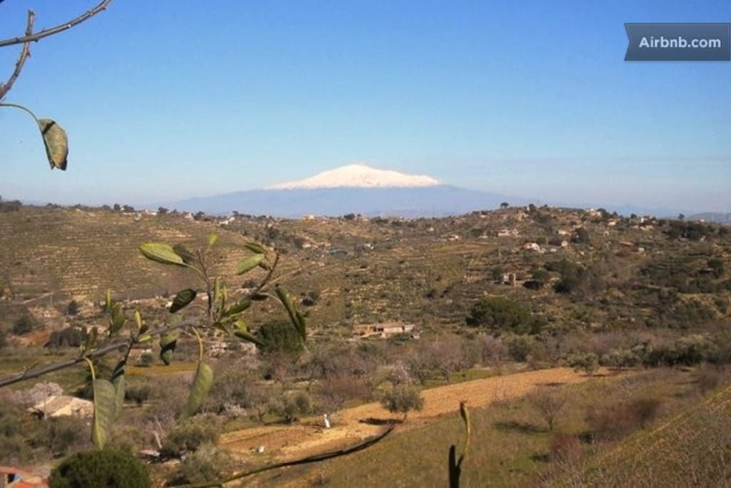 Etna in front of us!