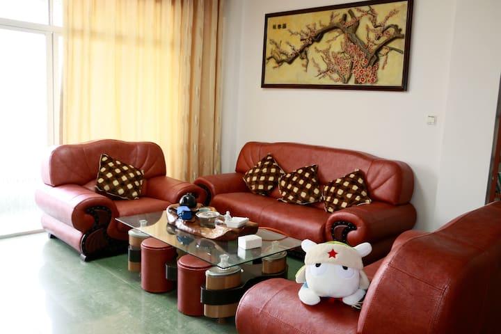 平潭班长家,家庭套房,3房2厅2卫1厨1阳台,家庭团队自驾游的好去处 - Fuzhou - Apartment