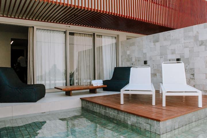 Qavi - Île de Pipa - Flat com piscina privativa
